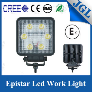 18W Agriculture 4X4 LED Work Light Work Lamp