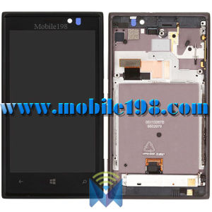 LCD Screen Display with Front Housing for Nokia Lumia 925 Mobile Phone Parts pictures & photos