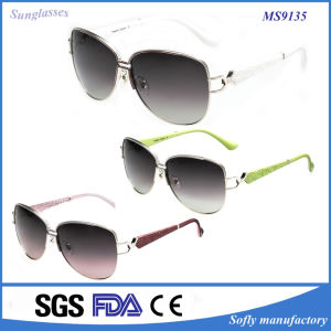 Most Fashion Designer Gradient Woman Sunglasses for Bathing pictures & photos