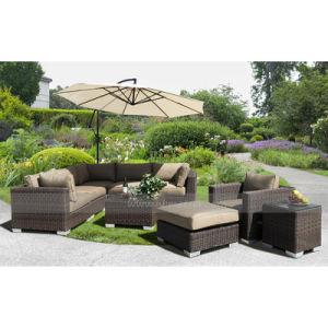 Mtc-267 Popular PE Rattan Sofa Set Wicker Furniture pictures & photos
