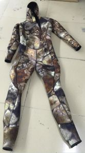 Neoprene Camouflage Spearfishing/, Wetsuit, Diving Equipment, Surfing, Swimwear. Wm-0003