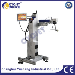 Flight Laser Marking Machine Used to PPR/PVC Pipe pictures & photos