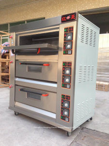 2-Deck 4-Tray High Quality Electric Oven Pizza Oven Bakery Equipment, Deck Oven pictures & photos