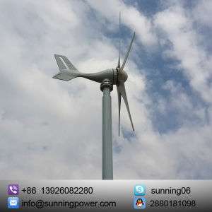 300 Watt 12-Volt 5-Blade Wind Generator with Charge Controller pictures & photos