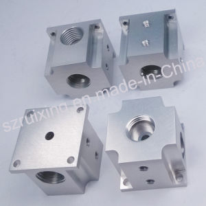 Aluminum Spare Part for Equipment by CNC Machining