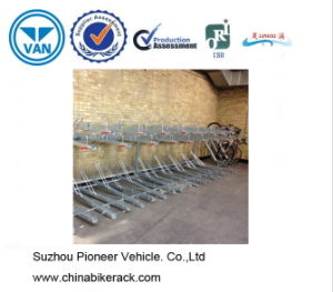 Galvanized Double Deck Parking Bike Rack pictures & photos