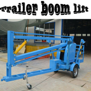 Work Platform Hydraulic Towable Trailer Boom Lift Table pictures & photos