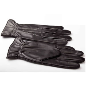 Men′s Fashion Warm Leather Motorcycle Driving Gloves (YKY5176) pictures & photos