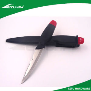 Stainless Steel Fishing Fillet Knife with Sheath