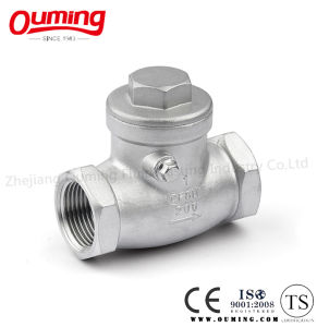 Swing Check Valve with Threaded End pictures & photos