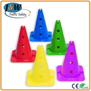 China Supplier Waterproof Reflective Traffic Cone PE Traffic Cone pictures & photos
