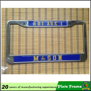 Cusotmized USA EU Car Plate Frame pictures & photos
