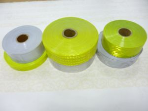 Reflective Tape for Clothing Reflective Fabric Tape Reflective Material pictures & photos