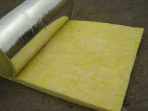 Glass Wool Blanket with Aluminum Foil on Two Sides 1200*2500*100mm pictures & photos