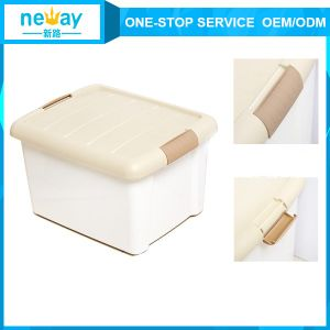 PP Pink Green Blue White Plastic Storage Box pictures & photos