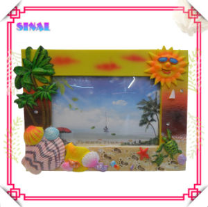 Resin Decorative Picture Frames for Sunny Beach Souvenirs