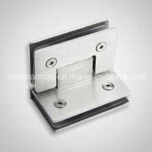 Brass 90 Degree Glass Clamp Shower Door Hinge (YH207) pictures & photos