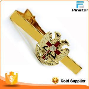 Custom Logo Gold Metal Tie Clip pictures & photos