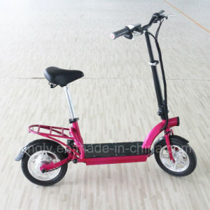 High Quality Lithium Battery Folded E Scooter (ES-1202) pictures & photos