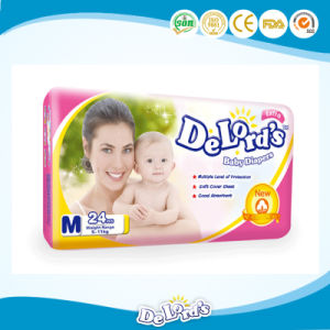 Stocklot Pakistan Cotton Backsheet Baby Diaper pictures & photos