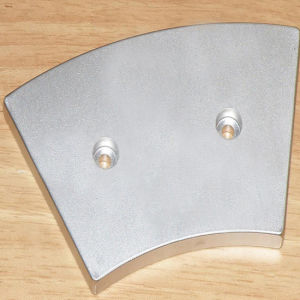 Arc Segment Magnets for Disc Type Wind Turbines