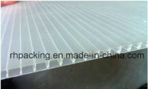 PP Board Recyclable Transparent Corrugated Plastic Roofing Sheets 1.5mm 2.5mm 4mm pictures & photos