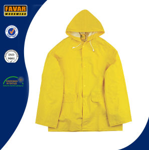 2-Piece Waterproof Rain Suit Yellow