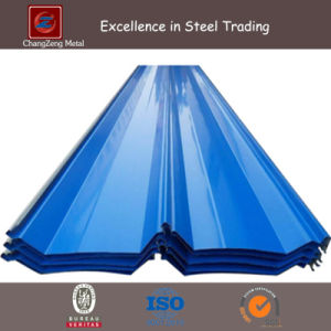 Hot DIP Coating Corrugated Plate for Roofing (CZ-CP16) pictures & photos