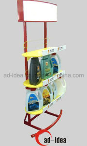 Lubricating Oil Display Stand/ Exhibition for Oil (MDR-061) pictures & photos