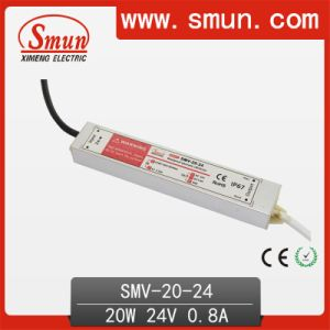 Waterproof Electronic LED Driver 20W 24V 0.8A pictures & photos