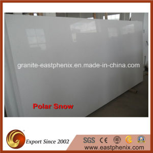 Competitive Price Artificial Polar Snow Slab for Countertop/Wall Tile pictures & photos