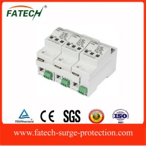 China Top 10 Brands Electronic Devices Solar PV Type 1 DC Surge Arrester Iimp 25ka 500VDC pictures & photos
