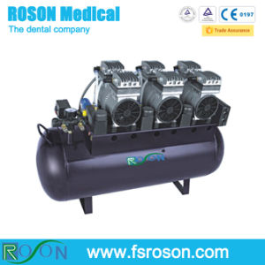 90L Oil Free Dental Air Compressor for Six Dental Unit Use