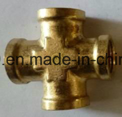 NPT Flare Brass Pipe Cross Fip Fitting pictures & photos