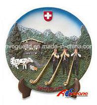 Switzerland Souvenir Polyresin Fridge Magnet (PMG037) pictures & photos