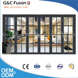 Ready Made Large Glass Japanese Folding Door All Kinds of Interior Doors Factory pictures & photos