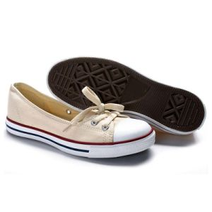 Top Selling Women/Girls Slip on Beige Espadrilles Canvas Rubber Shoes pictures & photos