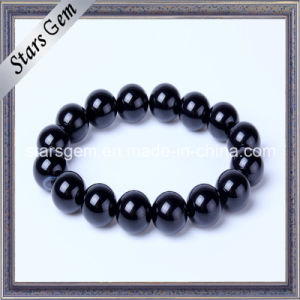 Good Quality Black Agate Bracelet for Jewelry pictures & photos