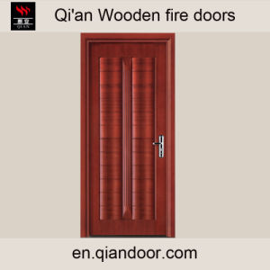 Veneered Composite Wooden Fire-Rated Door pictures & photos