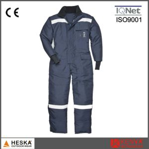 Custom Mens Reflective Workwear Winter Waterproof Safety Coverall pictures & photos
