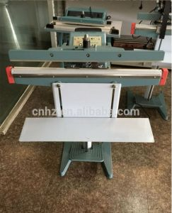 Passing Through Type Metail Body Pedal Sealing Machine pictures & photos