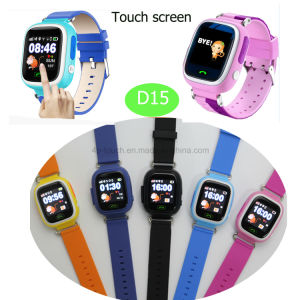 Lbs/GPS/WiFi Child/Kids Smart GPS Tracker Watch with Colorful Screen D15 pictures & photos