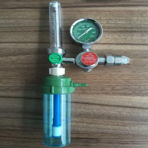 Medical Oxygen Gas Regulator with Inhaler Flowmete pictures & photos