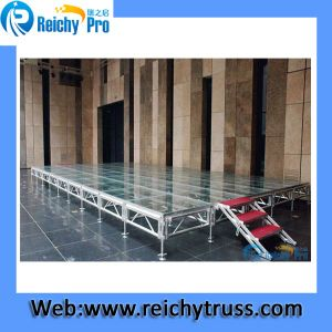 Acrylic Stage Lighting Effect Show Aluminum Frame Stage pictures & photos