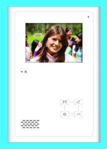 3.8 Hands Free Color Video Door Phone pictures & photos