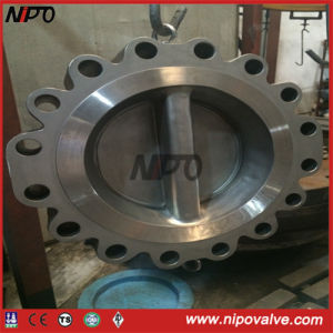 Lug Bulit in Double-Disc Wafer Swing Check Valve (HTL76) pictures & photos