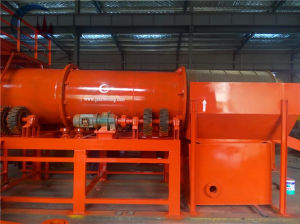 Alluvial Gold Trommel Scrubber Gold Processing Plant for Ghana pictures & photos