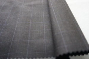Stripe Pure Wool Fabric for Suiting pictures & photos