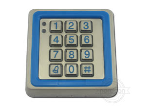 RFID Single Standalone Door Waterproof Metal Access Control System with Keypad Manufacturer pictures & photos