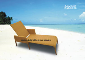 Outdoor Wicker Sun Lounge Rattan Wicker Furniture pictures & photos